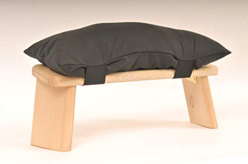 Fraximus Cushion for Meditation stool (Black)