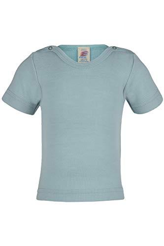 Engel Natur, Baby Shirt Kurzarm, 70% Wolle (kbT), 30% Seide (86-92)