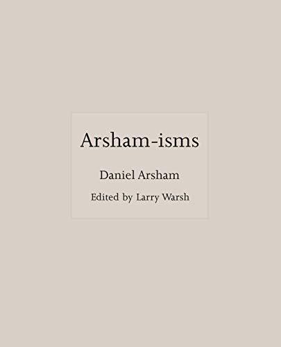 Arsham-isms