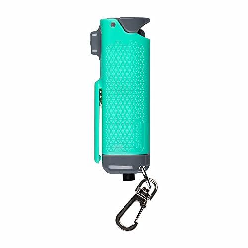 SABRE Safe Escape3-In-1Pepper GelWithSeat Belt Cutter and Window Breaker,25 Burst, 12 Foot (4 Meter) Range, Gel Is Safer, UV Marking Dye