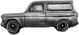 Spilla a forma di auto classica britannica Anglia 105E Van ref71 effetto peltro