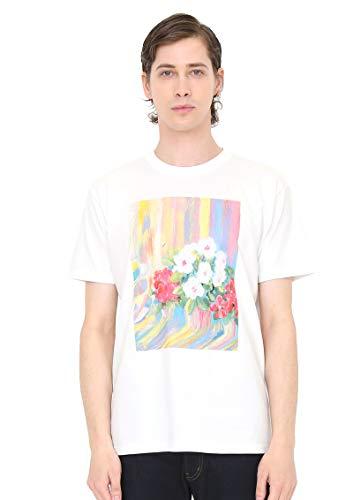(グラニフ) graniph コラボレーション Tシャツ あさになったのでまどをあけますよ (荒井良二) (ホワイト) メンズ レディース SS (g100) (g107) #おそろいコーデ (g100) (g107)