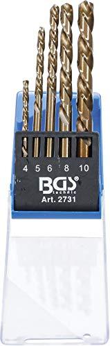 BGS 2731 | Bohrer-Satz | linksschneidend | 5-tlg.