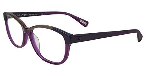 LANVIN Brillen VLN 662 M lila Streifen 0U55 Unisex - Erwachsene 