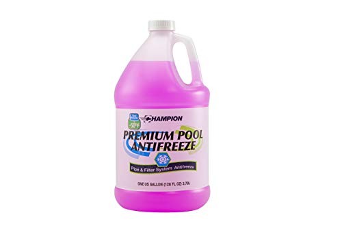 Champion Non-Toxic Swimming Pool Anti-Freeze - 4 Gallons