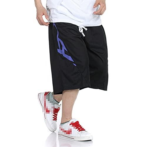 YUEMO Pantalones cortos de baloncesto de la NBA para hombre, de verano, 3/4, 17, XXL