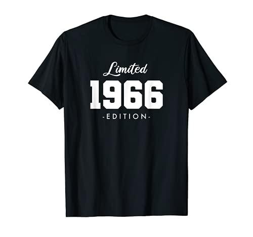 55 Jahre Jahrgang 1966 Limited Edition 55. Geburtstag T-Shirt