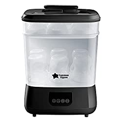 Kills viruses* and 99.9% of bacteria: Viruses & bacteria don't stand a chance against our Steam Steriliser. This steriliser uses steam to kill 99.9% of harmful bacteria & viruses without chemicals Choose from 3 different functions: With space for up ...