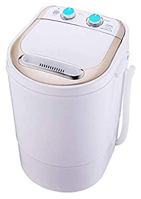 Small Mini Washing Machine Anti-Winding Top Opening Semiautomatic Single Barrel Spin-Dry Suitable For Apartments, Student Dormitory 1121