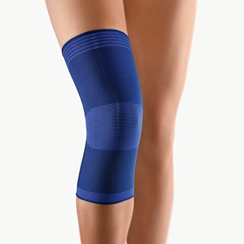 bort 054400 large blau Zweizug Kniestütze Bandage zur leichten Stabilisierung, large, blau