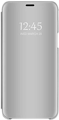 Qissy Samsung Galaxy S6 Edge Custodia, Nuovo Paraurti Antiurto Antigraffio Smart Cover Per Galaxy S6 Edge Cover (Samsung Galaxy S6 Edge, argento)