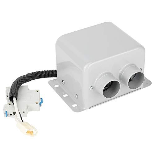 AMONIDA Calentador de automóvil, Unidad de calefacción de cerámica PTC Calentador eléctrico de automóvil Calentador de cerámica de aleación de Aluminio Calentador de automóvil de 7,1 x 4,7 x(24V)