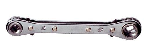 KS Tools 130.0122-4en1 aire acondicionado trinquete, 3/16