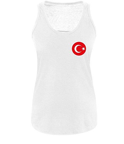 Luckja EM 2016 Trikot Türkei Fanshirt EM02 Damen Tanktop