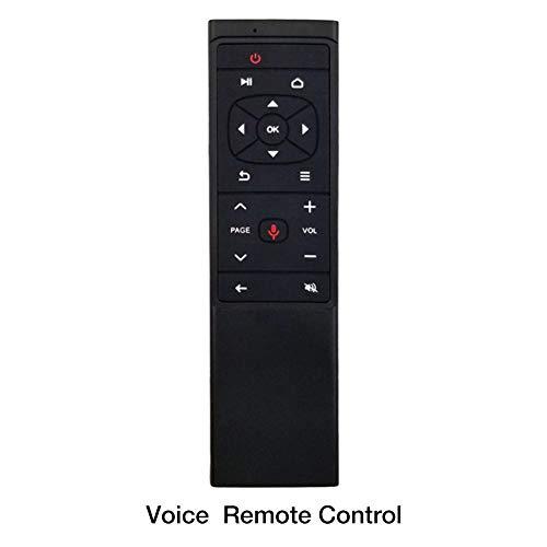 2,4 G Air Muis draadloos toetsenbord afstandsbediening infrarood afstandsbediening leren 3-assige bewegingssensor USB-ontvanger voor smart tv, mini draadloze Android tv-besturing infrarood leren