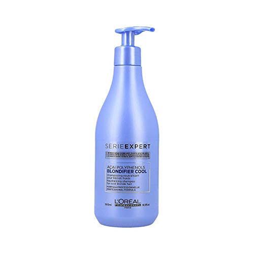 L'Oréal Professionnel Serie Expert Blondifier Cool Shampoo, 500 ml