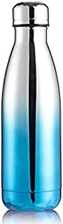 Water Bottles - 500ml Sport Water Bottle Gym Stainless Steel Bouteille Eau Botle for Water Gourde Drinkfles Insulated Gour...