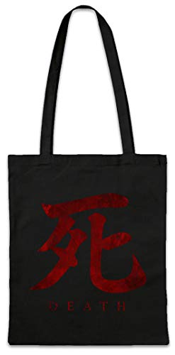 Urban Backwoods Death Symbol Hipster Bag Beutel Stofftasche Einkaufstasche