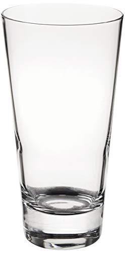 Moda Nude 13 Ounce Crystal Highball Glasses, Set of 6 Dishwasher-Safe...