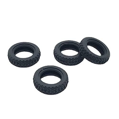 SM SunniMix Juego de neumáticos de Goma para Coche RC para WLtoys K989 K999 1/28 Escala 4WD Deriva Off Road Car Hobby Modelo Actualización de Piezas Accesorios