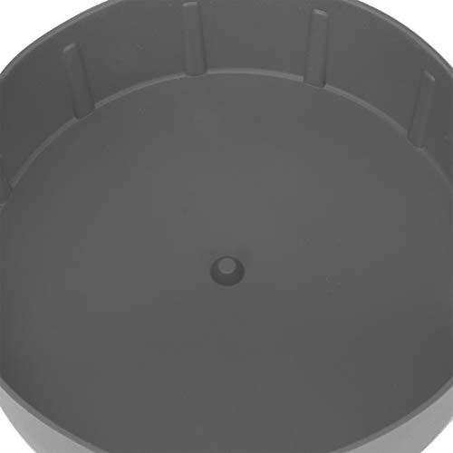 Air Frying Pot Liner Silicona Fácil de asar a la parrilla Sartén para el hogar para pasteles(grey)