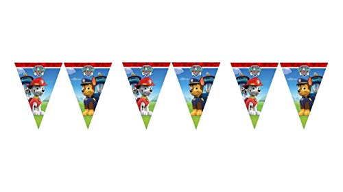 PAW PATROL ALMACENESDAN, 0499, Pack Fiestas y cumpleaños Patrulla Canina, 8 Platos,...