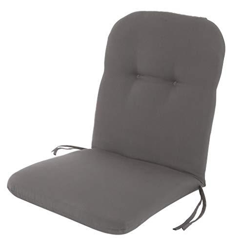 Kopu® Zitkussen Prisma Grey | Zitkussen voor tuinstoelen | Dralon | Prisma Grey zitkussen 96 x 44 cm | Stevig schuim voor extra comfort | Kussen met teflonlaag