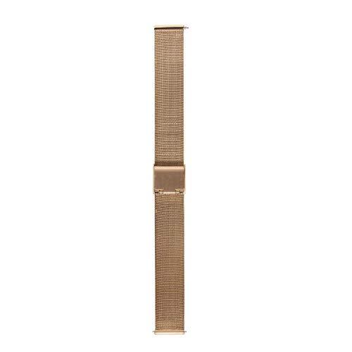 Morellato Correa de Reloj Unisex, Colección Easy Click, Mod. ESTIA, de Malla milanesa de Acero - A02X0549600