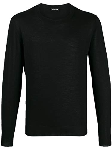 Luxury Fashion | Balenciaga Heren 583117T14396076 Zwart Wol Truien | Lente-zomer 20
