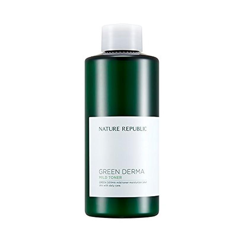 カセット普通のキルスNATURE REPUBLIC Green Derma Mild Toner / ネイチャーリパブリック グリーンダーママイルドトナー 200ml [並行輸入品]