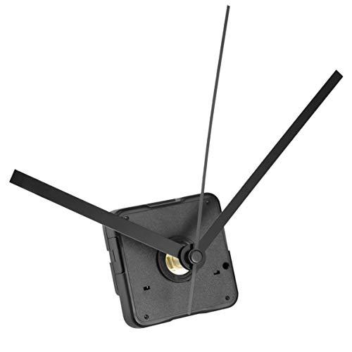 WINOMO Kits de Mouvement d'Horloge Silencieux pour Remplacement de l'Horloge DIY (Noir)