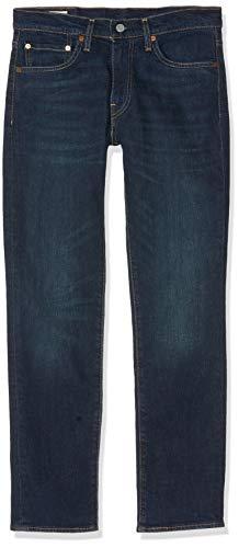 Levi's 511 Slim Fit Jeans, Dark Indigo-Worn in, 33W / 36L Uomo