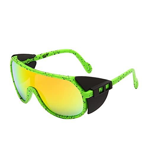 JLJLJL Gafas de Sol fotocrómicas para Hombres, Gafas de Sol de Ciclismo Gafas de Bicicletas Deportivas Gafas UV 400 Protección Ciclismo Conducción Corriendo Motociclismo C1