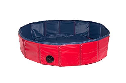 Karlie Doggy Pool ø: 160 cm blau-rot
