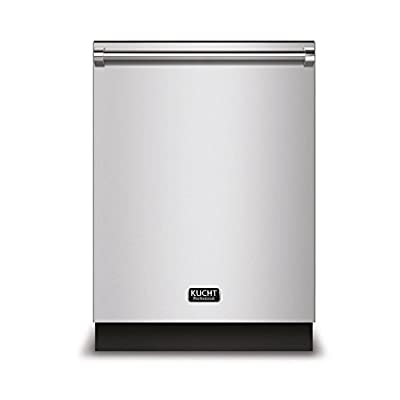 """Kucht K6502D Professional 24"""" Top Control Dishwasher, Stainless-Steel"""