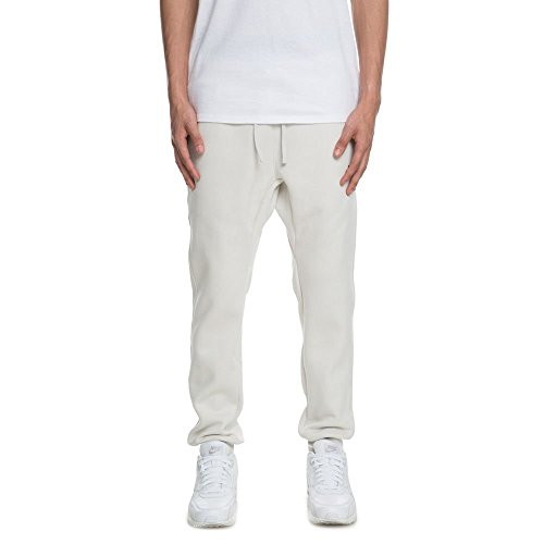 Nike Sportswear, Pantaloni Uomo, Bianco (Light Bone/Black), XL
