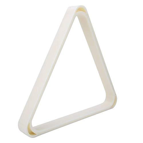 Vbest life ABS Todo el trípode de Billar de plástico engrosar Billar Profesional Marco Triangular Bolas de Billar Rack Suministros Accesorios(52.5MM)