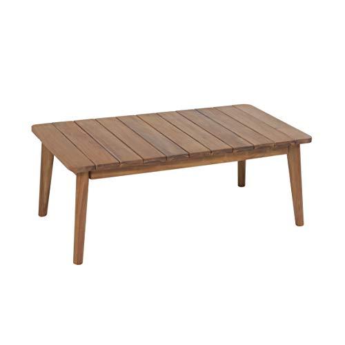 Greemotion Murcia Loungemöbel Set 4-teilig für Garten und Terrasse mit Tisch aus Holz, braun, 1 x 1 x 1 cm - 7