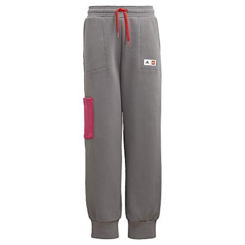 adidas x Classic Lego Cuffed Pants Kids', Grey, Size S