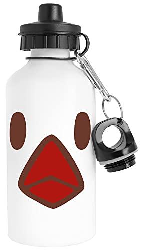 Pollo Fries Vestir Botella de Agua Acero Inoxidable Viajero Blanco Water Bottle Stainless Steel Traveller White