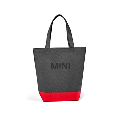 Mini Original Colour Block Shopper Tasche Coral/grau / rot Kollektion 2018/2020