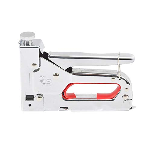 Nietmachine, 3 in 1 Handmatige Zware Handnietmachine Meubelnietmachine voor het binden van Hout Ramen van Houtbewerking Nietmachine met 600 Pc Nietjes