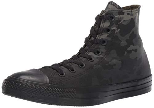 Converse Men's Unisex Chuck Taylor All Star Camo High Top Sneaker, Field Surplus/Black/Black, 6 M US