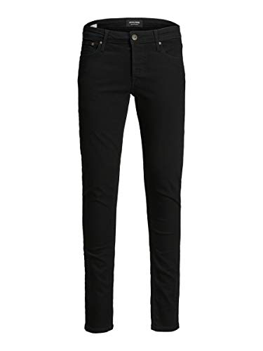 Jack & Jones NOS Herren JJIGLENN JJORIGINAL AM 816 NOOS Slim Jeans,, per pack Schwarz (Black Denim Black Denim), W29/L30 (Herstellergröße: 29)