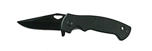 G8DS® Taschenmesser Black 130g Outdoor Jagd LK-312-BLK