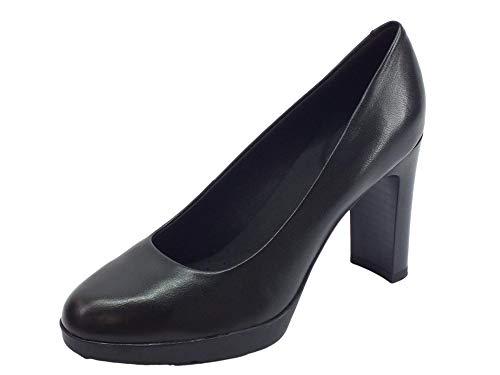 Geox D ANNYA High A, Scarpe con Tacco Donna, Nero (Black C9999), 37 EU