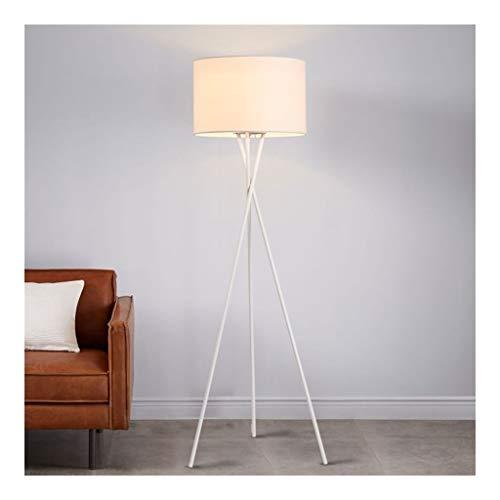 Staande Lamp LED Energy Saving Staande Lamp Living Room en Europees Bureau for Leeslamp Slaapkamer Creative Tripod Floor Lights LED (Color : White, Size : 45cm*159cm)