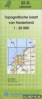 Topografische kaart van Nederland: Lelystad 20-G - 1:25000