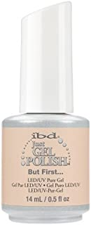ibd Just Gel Nail Polish - 2017 Nude Collection - But First - 14ml / 0.5oz