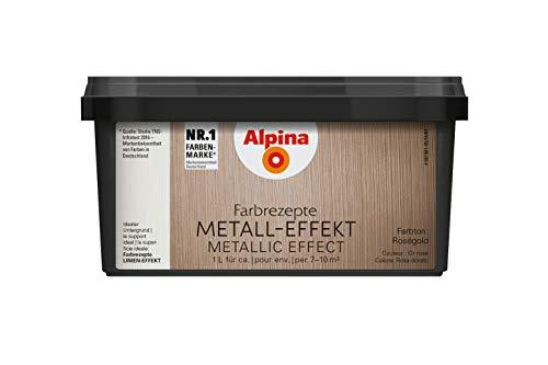 Alpina METALL-EFFEKT Roségold 1LT
